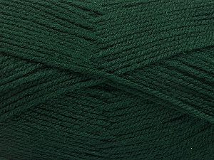 Fiber Content 100% Acrylic, Brand Ice Yarns, Dark Green, Yarn Thickness 3 Light  DK, Light, Worsted, fnt2-56569