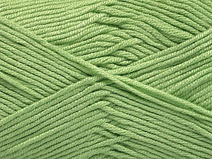 Fiber Content 50% Acrylic, 50% Bamboo, Mint Green, Brand Ice Yarns, Yarn Thickness 2 Fine  Sport, Baby, fnt2-56575