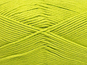 Fiber Content 50% Acrylic, 50% Bamboo, Light Green, Brand Ice Yarns, Yarn Thickness 2 Fine  Sport, Baby, fnt2-56577
