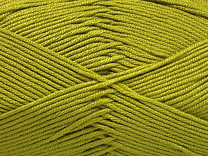 Fiber Content 50% Bamboo, 50% Acrylic, Olive Green, Brand Ice Yarns, Yarn Thickness 2 Fine  Sport, Baby, fnt2-56578