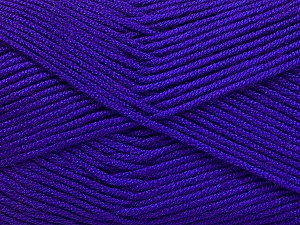 Fiber Content 50% Acrylic, 50% Bamboo, Purple, Brand Ice Yarns, Yarn Thickness 2 Fine  Sport, Baby, fnt2-56581