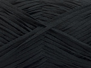 Fiber Content 100% Acrylic, Brand Ice Yarns, Black, Yarn Thickness 3 Light  DK, Light, Worsted, fnt2-56695