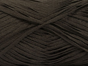 Fiber Content 100% Acrylic, Brand Ice Yarns, Dark Brown, Yarn Thickness 3 Light  DK, Light, Worsted, fnt2-56697