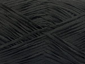 Fiber Content 100% Acrylic, Brand Ice Yarns, Black, Yarn Thickness 2 Fine  Sport, Baby, fnt2-56705