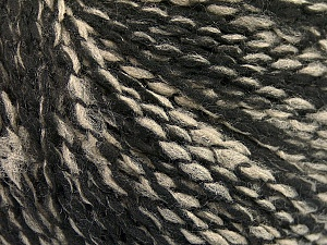 Fiber Content 60% Acrylic, 20% Wool, 20% Polyamide, Brand Ice Yarns, Black, Beige, Yarn Thickness 3 Light  DK, Light, Worsted, fnt2-56771