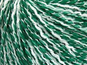 Fiber Content 60% Acrylic, 20% Polyamide, 20% Wool, White, Brand Ice Yarns, Green, Yarn Thickness 3 Light  DK, Light, Worsted, fnt2-56772