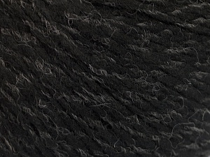Fiber Content 50% Acrylic, 50% Wool, Brand Ice Yarns, Grey, Black, fnt2-56831