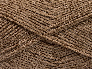 Fiber Content 100% Acrylic, Brand Ice Yarns, Camel, Yarn Thickness 3 Light  DK, Light, Worsted, fnt2-56911