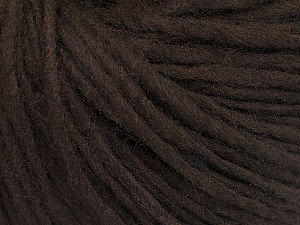 Fiber Content 50% Acrylic, 50% Wool, Brand Ice Yarns, Dark Brown, Yarn Thickness 4 Medium  Worsted, Afghan, Aran, fnt2-57002
