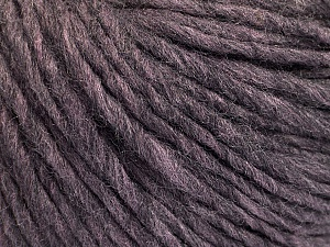 Fiber Content 50% Acrylic, 50% Wool, Maroon Melange, Brand Ice Yarns, Yarn Thickness 4 Medium  Worsted, Afghan, Aran, fnt2-57012