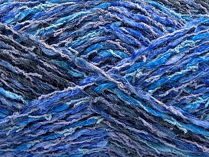 Fiber Content 45% Acrylic, 35% Cotton, 20% Polyamide, Navy, Brand Ice Yarns, Blue Shades, Yarn Thickness 3 Light  DK, Light, Worsted, fnt2-57262