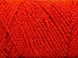 Items made with this yarn are machine washable & dryable. Fiber Content 100% Acrylic, Brand Ice Yarns, Dark Orange, Yarn Thickness 4 Medium  Worsted, Afghan, Aran, fnt2-57426