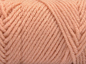 Items made with this yarn are machine washable & dryable. Fiber Content 100% Acrylic, Light Salmon, Brand Ice Yarns, Yarn Thickness 4 Medium  Worsted, Afghan, Aran, fnt2-57428