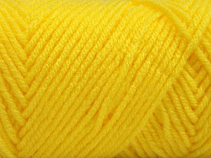 Items made with this yarn are machine washable & dryable. Fiber Content 100% Acrylic, Yellow, Brand Ice Yarns, Yarn Thickness 4 Medium  Worsted, Afghan, Aran, fnt2-57429