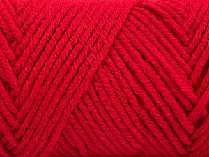 Items made with this yarn are machine washable & dryable. Fiber Content 100% Acrylic, Brand Ice Yarns, Dark Fuchsia, Yarn Thickness 4 Medium  Worsted, Afghan, Aran, fnt2-57434