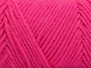 Items made with this yarn are machine washable & dryable. Fiber Content 100% Acrylic, Brand Ice Yarns, Gipsy Pink, Yarn Thickness 4 Medium  Worsted, Afghan, Aran, fnt2-57435