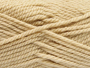 Bulky  Fiber Content 100% Acrylic, Brand Ice Yarns, Cafe Latte, Yarn Thickness 5 Bulky  Chunky, Craft, Rug, fnt2-57443