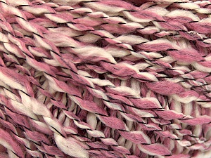 Fiber Content 90% Acrylic, 10% Polyamide, White, Rose Pink, Brand Ice Yarns, Yarn Thickness 3 Light  DK, Light, Worsted, fnt2-57456