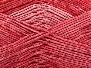 Fiber Content 100% Mercerised Cotton, Salmon, Brand Ice Yarns, Yarn Thickness 2 Fine  Sport, Baby, fnt2-57610