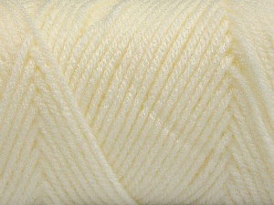 Items made with this yarn are machine washable & dryable. Items made with this yarn are machine washable & dryable. Fiber Content 100% Acrylic, Ivory, Brand ICE, Yarn Thickness 4 Medium  Worsted, Afghan, Aran, fnt2-57614
