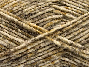 Fiber Content 70% Acrylic, 30% Wool, White, Brand Ice Yarns, Camel, Brown Shades, Yarn Thickness 4 Medium  Worsted, Afghan, Aran, fnt2-57642