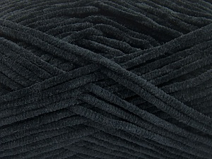 Fiber Content 100% Micro Fiber, Brand Ice Yarns, Black, Yarn Thickness 3 Light  DK, Light, Worsted, fnt2-57651