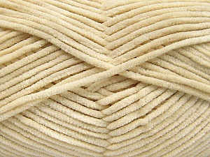Fiber Content 100% Micro Fiber, Brand Ice Yarns, Cream, Yarn Thickness 3 Light  DK, Light, Worsted, fnt2-57652