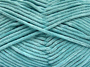 Fiber Content 100% Micro Fiber, Light Turquoise, Brand Ice Yarns, Yarn Thickness 3 Light  DK, Light, Worsted, fnt2-57661