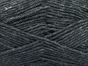 Fiber Content 65% Merino Wool, 35% Silk, Brand Ice Yarns, Anthracite Black, Yarn Thickness 3 Light  DK, Light, Worsted, fnt2-57664