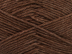 Fiber Content 65% Merino Wool, 35% Silk, Brand Ice Yarns, Brown, Yarn Thickness 3 Light  DK, Light, Worsted, fnt2-57665