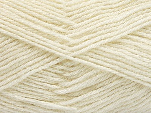 Fiber Content 65% Merino Wool, 35% Silk, Brand Ice Yarns, Ecru, Yarn Thickness 3 Light  DK, Light, Worsted, fnt2-57669
