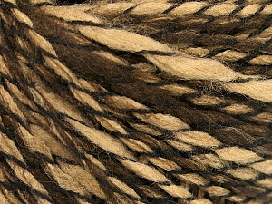 Fiber Content 90% Acrylic, 10% Polyamide, Brand Ice Yarns, Brown Shades, Yarn Thickness 3 Light  DK, Light, Worsted, fnt2-57687