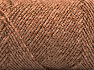Fiber Content 50% Acrylic, 50% Wool, Brand Ice Yarns, Camel, Yarn Thickness 3 Light  DK, Light, Worsted, fnt2-57729