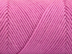 Fiber Content 50% Acrylic, 50% Wool, Light Pink, Brand Ice Yarns, Yarn Thickness 3 Light  DK, Light, Worsted, fnt2-57732