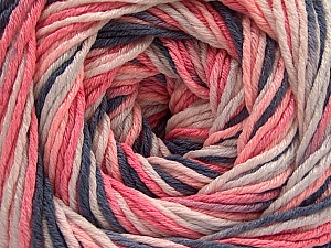 Fiber Content 100% Acrylic, White, Salmon, Brand Ice Yarns, Grey, Baby Pink, Yarn Thickness 3 Light  DK, Light, Worsted, fnt2-57744