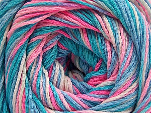 Fiber Content 100% Acrylic, Turquoise Shades, Pink Shades, Brand Ice Yarns, Yarn Thickness 3 Light  DK, Light, Worsted, fnt2-57747