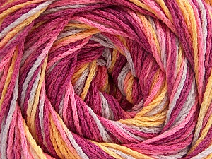Fiber Content 100% Acrylic, Yellow, Pink, Orchid, Lilac, Brand Ice Yarns, Yarn Thickness 3 Light  DK, Light, Worsted, fnt2-57753