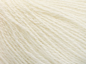 Fiber Content 65% Merino Wool, 35% Silk, Brand Ice Yarns, Ecru, Yarn Thickness 1 SuperFine  Sock, Fingering, Baby, fnt2-57855