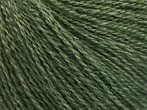 Fiber Content 65% Merino Wool, 35% Silk, Jungle Green, Brand Ice Yarns, Yarn Thickness 1 SuperFine  Sock, Fingering, Baby, fnt2-57858