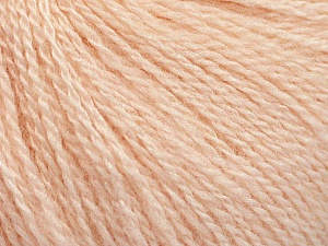 Fiber Content 65% Merino Wool, 35% Silk, Light Salmon, Brand Ice Yarns, Yarn Thickness 1 SuperFine  Sock, Fingering, Baby, fnt2-57860