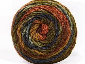 Fiber Content 100% Acrylic, Purple, Brand Ice Yarns, Green Shades, Brown Shades, Yarn Thickness 4 Medium  Worsted, Afghan, Aran, fnt2-58026