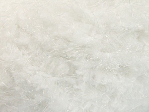 Fiber Content 100% Polyamide, White, Optical White, Brand Ice Yarns, Yarn Thickness 6 SuperBulky  Bulky, Roving, fnt2-58112