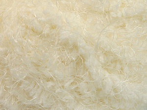 Fiber Content 100% Polyamide, Brand Ice Yarns, Cream, Yarn Thickness 6 SuperBulky  Bulky, Roving, fnt2-58113