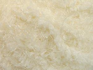 Fiber Content 100% Polyamide, Brand Ice Yarns, Cream, Yarn Thickness 6 SuperBulky  Bulky, Roving, fnt2-58113