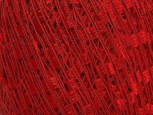 Trellis  Fiber Content 100% Polyester, Red, Brand Ice Yarns, Yarn Thickness 5 Bulky  Chunky, Craft, Rug, fnt2-58130