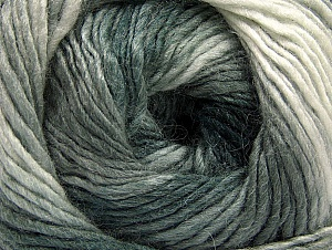 Fiber Content 70% Acrylic, 30% Wool, Brand Ice Yarns, Grey Shades, Yarn Thickness 3 Light  DK, Light, Worsted, fnt2-58140