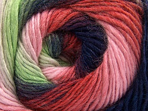 Fiber Content 70% Acrylic, 30% Wool, Red, Purple, Pink Shades, Brand Ice Yarns, Green Shades, Yarn Thickness 3 Light  DK, Light, Worsted, fnt2-58145