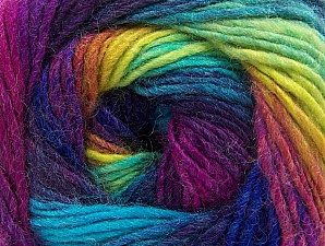 Fiber Content 70% Acrylic, 30% Wool, Vivid Colors, Brand Ice Yarns, Yarn Thickness 3 Light  DK, Light, Worsted, fnt2-58147
