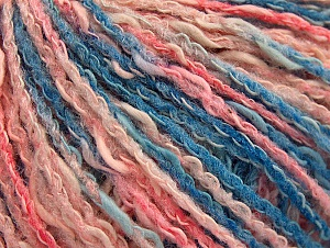 Fiber Content 50% Acrylic, 50% Cotton, Pink Shades, Brand Ice Yarns, Blue Shades, Yarn Thickness 4 Medium  Worsted, Afghan, Aran, fnt2-58168