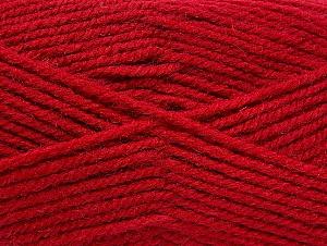 Fiber Content 50% Wool, 50% Acrylic, Brand Ice Yarns, Dark Fuchsia, Yarn Thickness 4 Medium  Worsted, Afghan, Aran, fnt2-58184